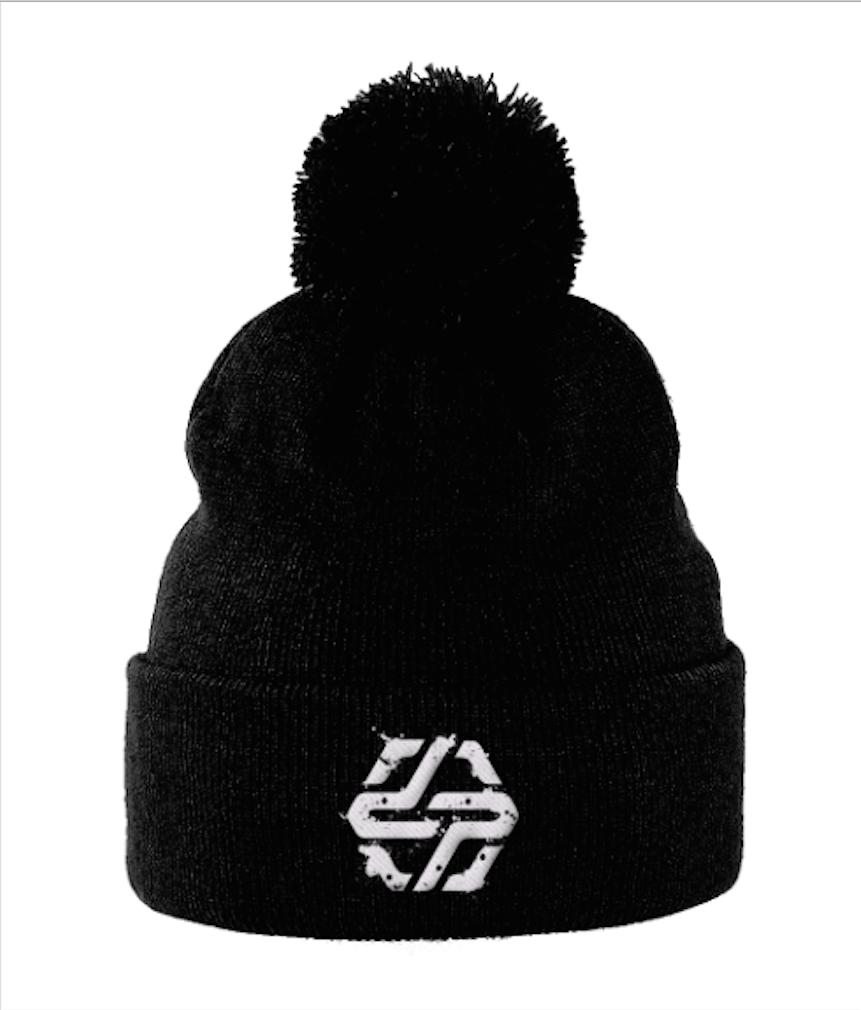 Black Pom Hat