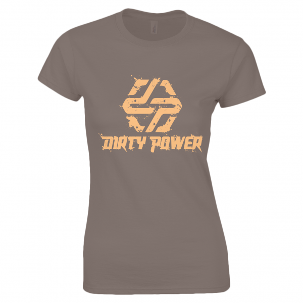 yellow-on-brown-womens-t